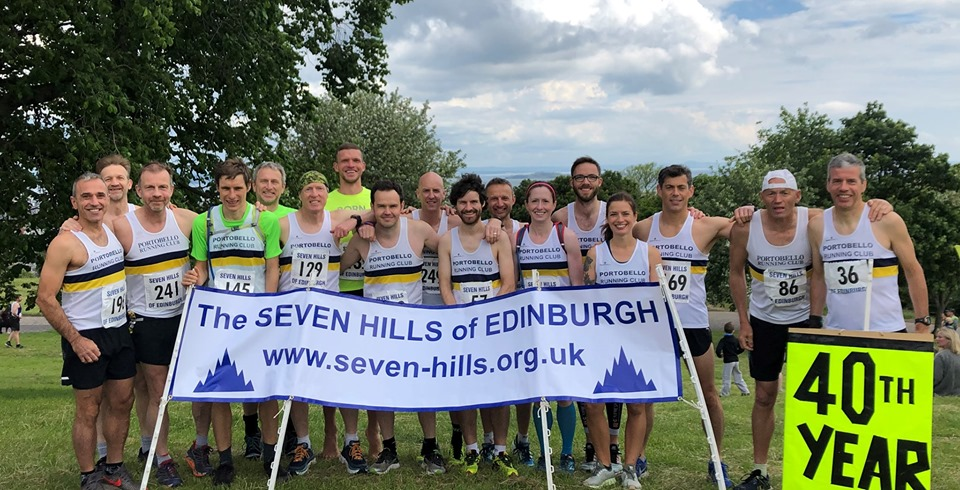 Portobello Running Club at the Seven Hills race