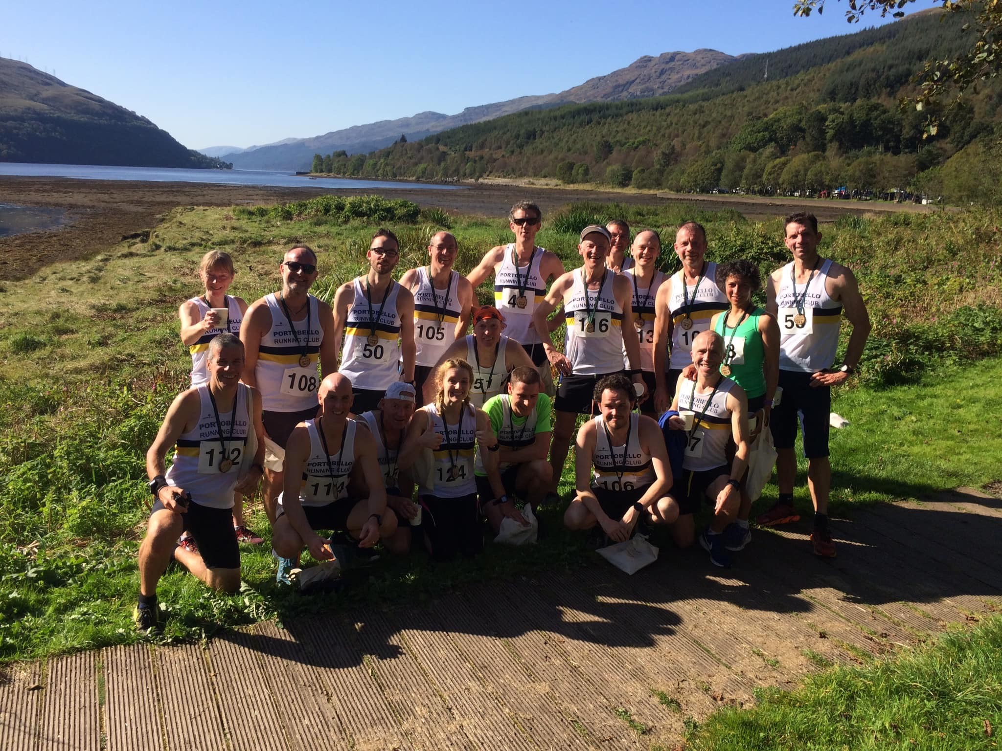 Porobello Running Club at Arrochar 10k