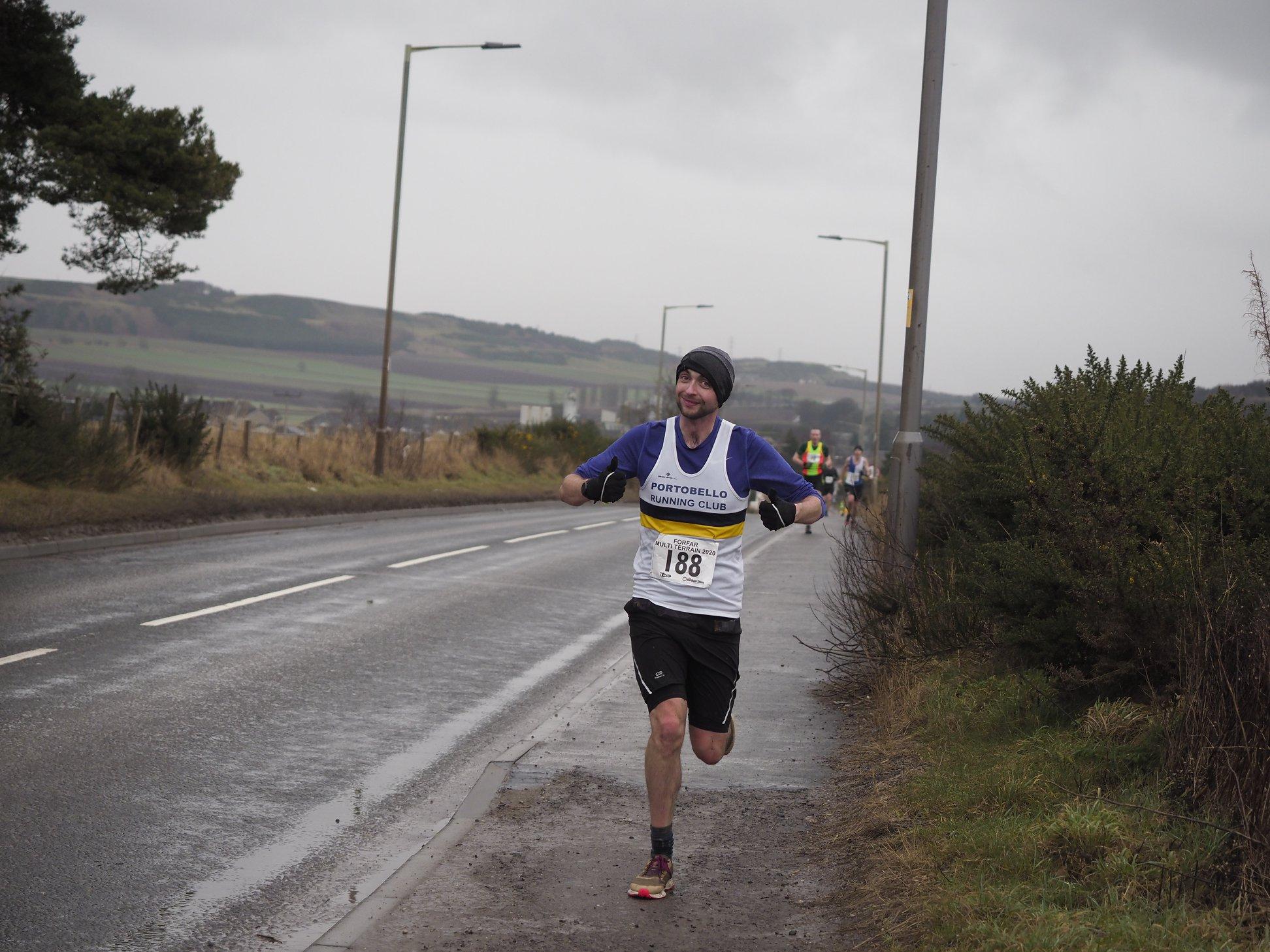 Forfar Multi Terrain Half Marathon AJ