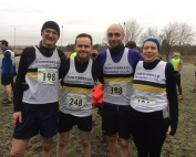 Forfar Multi Terrain Half Marathon group shot